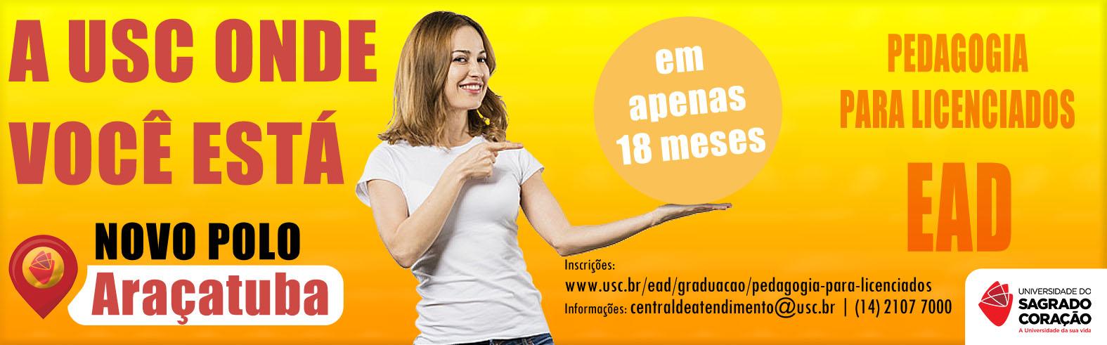 EAD - Pedagogia para Licenciados