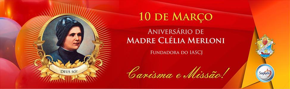 BN Aniversário Madre Clélia 2015