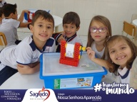 Aula Lego: Máquina de ondular papel