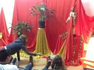 Sala Vermelha, um momento com o Sagrado Coração de Jesus