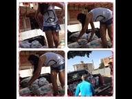 Aluna comemora aniversário e pede como presente cestas básicas para serem doadas