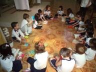 Mês da Bíblia no Infantil II