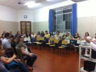 Reunião em preparação ao período de matrículas