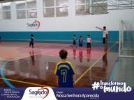 Volta às aulas do futsal no CNSA