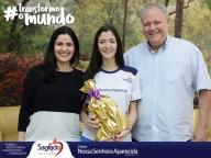 Giulia Cabral Sader, aluna brilhante!