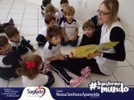 """PROJETO DE LEITURA: """"Cachinhos dourados""""- INFANTIL I - Roberta"""