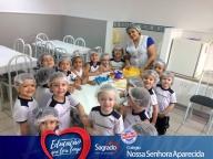 Aulas de culinária - Professora Milena - tarde