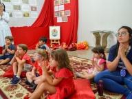 COM O TEMA BOMBEIRINHOS DE JESUS, EDUCAÇÃO INFANTIL PARTICIPA DO ENCONTRO DE VIDA
