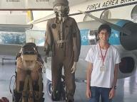 Diário de bordo do estudante Felipe Cozac na XIV Jornada Espacial em São José dos Campos SP