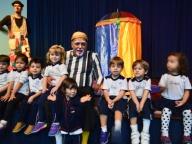 Nossos estudantes receberam o circo na escola!