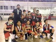 Equipe de vôlei Cor Jesu conquista duas medalhas!