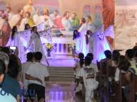 Missa em homenagem às mães e coroação de Nossa Senhora
