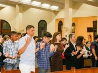 Cerimônia de conclusão do Ensino Fundamental II 2016 (Missa)