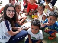 Mais Valores: Visita à creche Alecrim
