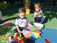 INFANTIL I DESENVOLVE A COORDENAÇÃO MOTORA NA AULA DE PSICOMOTRICIDADE