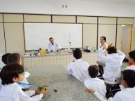 4° ANO REALIZA EXPERIMENTOS DE TRANSFORMAÇÕES QUÍMICAS E FÍSICAS