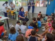 ESTUDANTES DO PERÍODO INTEGRAL PARTICIPAM DE ATIVIDADES RECREATIVAS DURANTE AS FÉRIAS