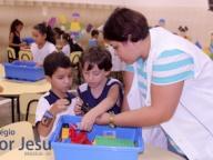 Início das aulas Lego Zoom Education