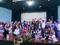 Celebração de encerramento do Ensino Fundamental II 2018