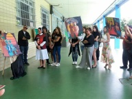 Vernissage das obras produzidas pelos estudantes