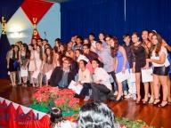 Cerimônia de conclusão do Ensino Fundamental II - 2014