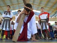 Via Sacra do Colégio Cor Jesu 2017 (Encenação para os estudantes)