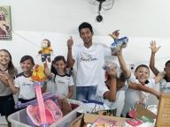 Entrega de doação para o Grupo Servus Caritas