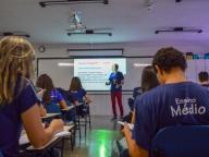1ª SÉRIES DO ENSINO MÉDIO PARTICIPA DE AULÃO DE REVISÃO DAS OBRAS MUSICAIS DO PAS/UnB 2019-2021