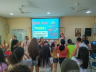 2° DIA - ENCONTRO DOS ADOLESCENTES DO SAGRADO CORAÇÃO DE JESUS, CENTRO-NORTE