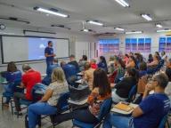 2° DIA: EM SEMANA PEDAGÓGICA, PROFESSORES PARTICIPAM DE PALESTRA SOBRE METODOLOGIAS ATIVAS
