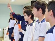 Estudantes do Cor Jesu participam do Aulão da Tabela Periódica