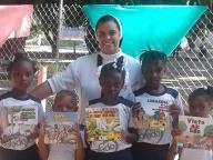 Semana do livro infantil na escola