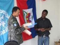 Reunião com Dentista do Exército Brasileiro