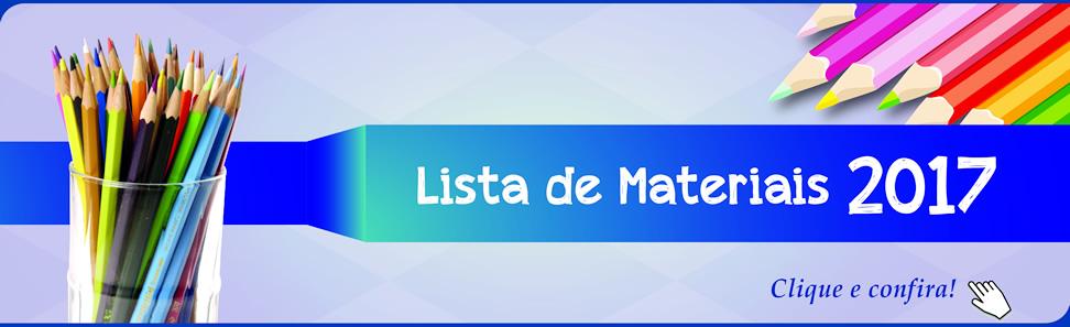 Lista Material Escolar 2017