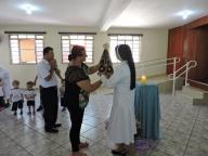 Teatro em Homenagem a Madre Clélia Merloni e Visita da imagem peregrina de Nossa Senhora Aparecida