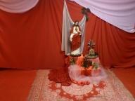 Sala Vermelha Homenagem ao Sagrado Coração de Jesus
