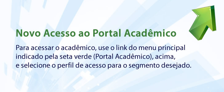 Instrução Novo Portal Acadêmico