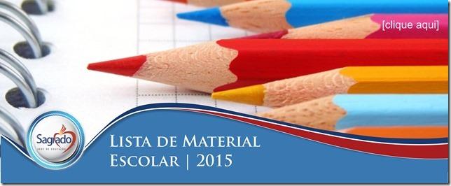 Lista de Materiais 2015