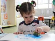 Viajando no Mundo das Cores (Azul) - Infantil 1A