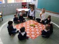 Viajando no Mundo das Cores (Laranja) - Infantil 1A