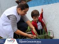 Colheita e Degustação de Cebolinha - Infantil 1A