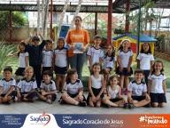 Encerramento do Projeto Sacola de Leitura (Infantil 4A)