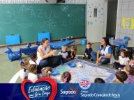 Projeto Viajando no Mundo das Cores - AZUL (Infantil 1A)
