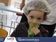 Colheita e Degustação de Alface Crespa - Infantil 1B