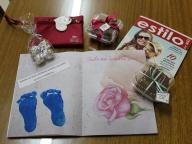 Presentes feitos pelos alunos para o Dia das Mães