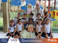 Encerramento do Projeto Sacola de Leitura (Infantil 4B)