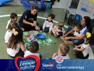 Projeto Viajando no Mundo das Cores - AZUL (Infantil 1B)