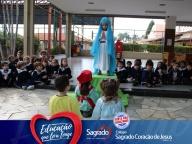 Encenação sobre Nossa Senhora de Fátima (Infantil - manhã)