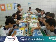 SEMANA DA CRIANÇA (13/10) - Recriação de obras em tela (5º ano)