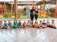 Contação de História - Infantil 3C (tartaruga infeliz)